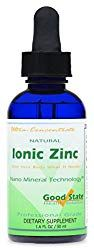 Good State Liquid Ionic Zinc Ultra Concentrate drops equal 15 mg - 100 servings per bottle) ** Details can be found by clicking on the sponsored image. Natural Sources Of Zinc, Best Zinc Supplement, Zinc Capsules, Ionic Liquid, Zinc Supplements, Chewable Vitamins, Zinc Deficiency