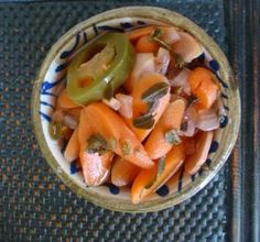 Fresh Approach Cooking: Mexican Style Pickled Carrots