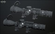 ArtStation - Sniper Ghost Warrior 3: NATO Scope 05, Rafal Brozyniak