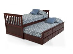 Greenville 7 Piece Twin Bedroom Set With Desk Kids