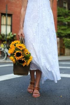 Sunflowers & Sandals