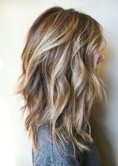 Blonde Balayage-Trendy Hairs