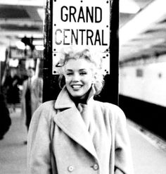 Marilyn Monroe @ Grand Central Station, New York City, USA