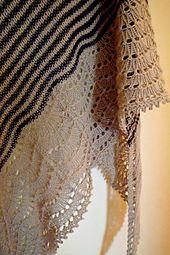 Ravelry: pimpampum's Xaile de Janeiro, tricotado com 3 novelos de Prima Merino