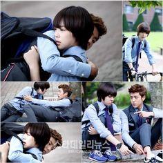 To the Beautiful You f(x)'s Sulli and Lee Hyun Woo. Lee Hyun Woo is sooo cuuteee!!! I wuv him.