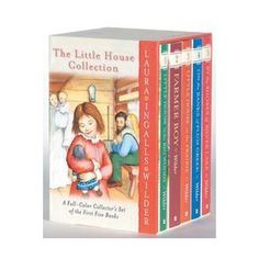 The Little House Collection. All of Laura Ingalls Wilder's Little House on the Prairie books. From the article Little House on the Prairie Gifts. I Love Books, Good Books, Books To Read, Big Books, Amazing Books, Laura Ingalls Wilder, House Serie, Wilder Book, Thing 1