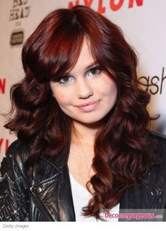 deep red haircolor
