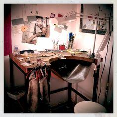 My work bench :-)
