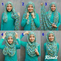 Modern And Beautiful Hijab Styles Tutorial Hijab Outfit, Hijab Dress, Square Hijab Tutorial, Hijab Style Tutorial, Hijab Fashion Inspiration, Trend Fashion, Fashion Bloggers, Muslim Hijab, Muslim Dress