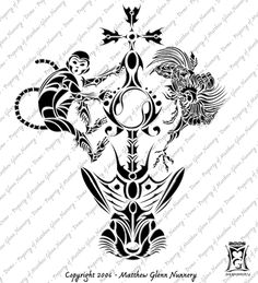 a4b9ecaf69b3d Chinese Zodiac Monkey Tattoo Designs monkey tattoos and designs page ... Horoscope  Tattoos,