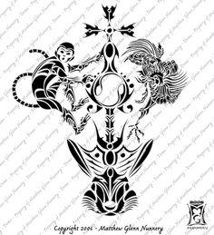 Chinese Zodiac Monkey Tattoo Designs monkey tattoos and designs page ...