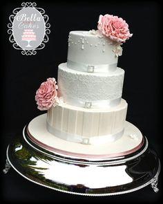 Wedding Cake Casey By Bella Bakes Cakes