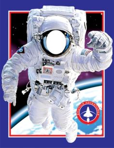 Mission Space Party Photo-Op Wall Banner - Outer Space Party Decorations