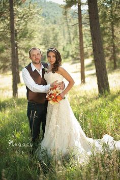 Lexi and Brad - bride and groom - photo courtesy of Legacy photography