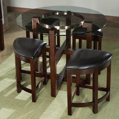 Coronado 5 pc. Nesting Stools Counter Height Set