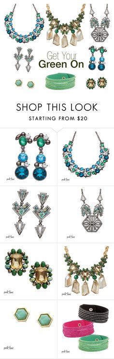 """Get Your Green On"" by parklanejewelry on Polyvore Get yours today!! Buy TWO get FOUR Half Price!! www.parklanejewellery.ca/rep/manongoulet"