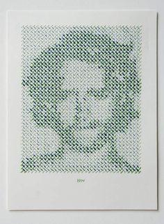 Portrait Project por Evelyn Kasikov