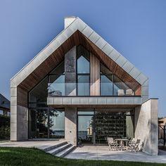 Villa P by Nørkær+Poulsen #Architects located in #Denmark © Patrick Ronge Vinther #designandlive