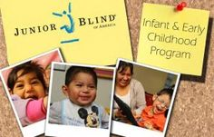 View this webinar by Junior Blind of America and Perkins eLearning, which presents an in-depth view of how the iPad can be used to provide vision stimulation to young children with varying degrees of visual impairments, including those with significant additional disabilities. *repinned by WonderBaby.org