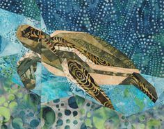 silver linings quilting pattern sea turtle