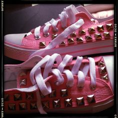 My diy studded shoes