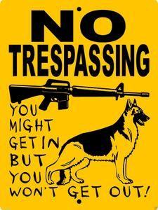 GERMAN SHEPHERD DOG SIGN 3388GSCY