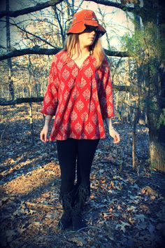 Red Queen Dashiki Soft Cotton Tree of Life by WonderlandRevival, $35.00