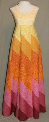 Fire Dress/Quilting