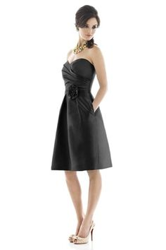 My girls would look HAWT in this!! Just saying <3  Alfred Sung D498