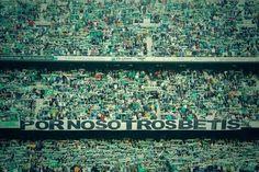 Que haga RT la afición que nunca abandona a su equipo, siempre junto a ti Betis, la afición del Real Betis Balompié!!
