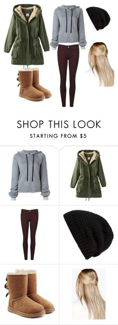 """""""Winter"""" by ggrocks1313 ❤ liked on Polyvore featuring Unravel, Paige Denim, Rick Owens, UGG and Boohoo"""
