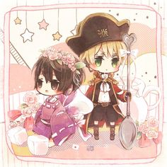 Hetalia IggyPan. I don't ship, but this is cute :3
