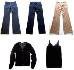 MaiTai's Picture Book: New capsule wardrobe pieces - Ines de la Fressange collection