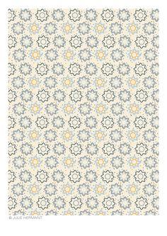 Pattern for Tissus Trouillet