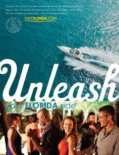 "Visit Florida ""Your Florida Side"" campaign"