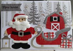 Scrapcard girls: 52 weeks to Christmas week 38 Merry Christmas And Happy New Year, Christmas Art, Handmade Christmas, Christmas Decorations, Christmas Ornaments, Xmas Cards, Holiday Cards, Marianne Design Cards, Snowman Cards
