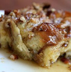 French Toast Casserole ~ Christmas morning breakfast!