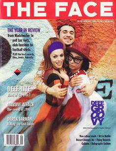 deee-lite! my 90s fav! plus massive attack gets press in this issue!  see...i'm hip ;-)