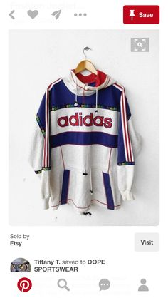 Vintage Adidas. Love this cut.