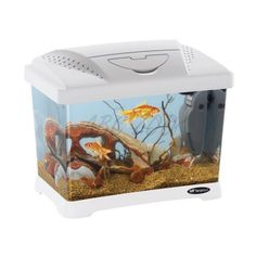 Műanyag akvárium CAPRI JUNIOR WHITE 21L