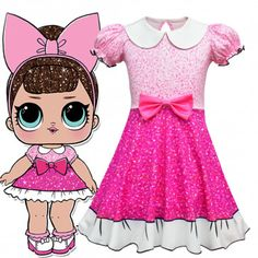 Surprise Fancy Doll Costume for Girls L. Surprise Fancy Doll Costume for Girls American Girl Doll Costumes, Girl Costumes, Cosplay Costumes, Children Costumes, Diy Voodoo Doll Costume, Paper Doll Costume, Halloween Costume Contest, Halloween Dress, Halloween Costumes For Kids