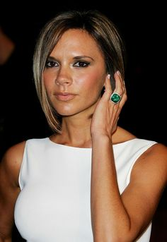 Image detail for -Victoria Beckham Red Carpet White Dress 2007 Vanity Fair Oscar party ...