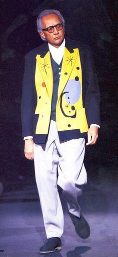 Yohji Yamamoto - Joan Miro Print Menswear AW 1991