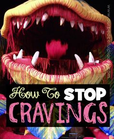 Why is it we never crave food that is GOOD for us!?! This post gives you a FREE PRINTABLE list of ideas to help you deal with those cravings and also has some great inspirational info! It also explains why we crave only bad stuff. (This part might make you mad!)