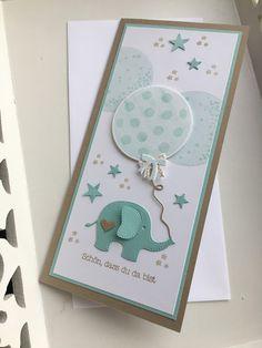 Willkommen auf meinem Blog! Schön dass ihr hier vorbei schaut! Babykarten gestalte ich zu gerne und am liebsten mit dem aller süßesten El...