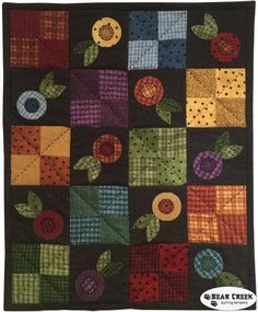 Woolies Flannel - A Charming Little Quilt Free Pattern by Maywood Studio