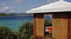 The Ritz-Carlton, St. Thomas - The Spa Beach Cabana, perfect for a relaxing massage