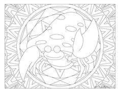 Free printable Pokemon coloring page-Parasect. Visit our page for more coloring! Coloring fun for all ages, adults and children. Pokemon Coloring Pages, Coloring Book Pages, Printable Coloring Pages, Colorful Drawings, Colorful Pictures, Papercraft Pokemon, Pokemon Cross Stitch, Pokemon Images, Coloring Pages For Kids