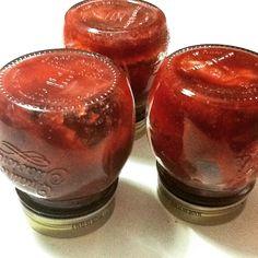 Marmellata di fragole petali di rose e peperoncino pronta in 15 minuti con il mio mix pronto FRUTTELLATA