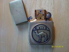 Zippo  Camel Lighter Vintage Cigarette Lighter Zippo by olysoldies
